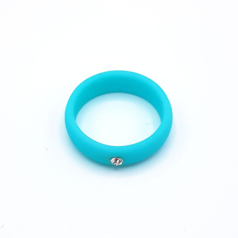 Силиконов пръстен Crystal Blue