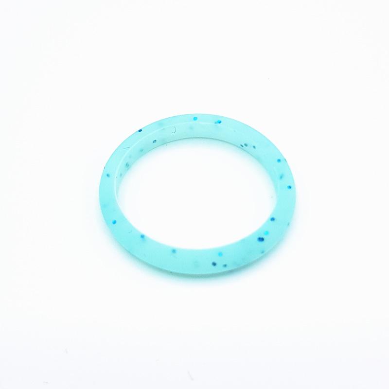 Силиконов пръстен Elements Basic Blue