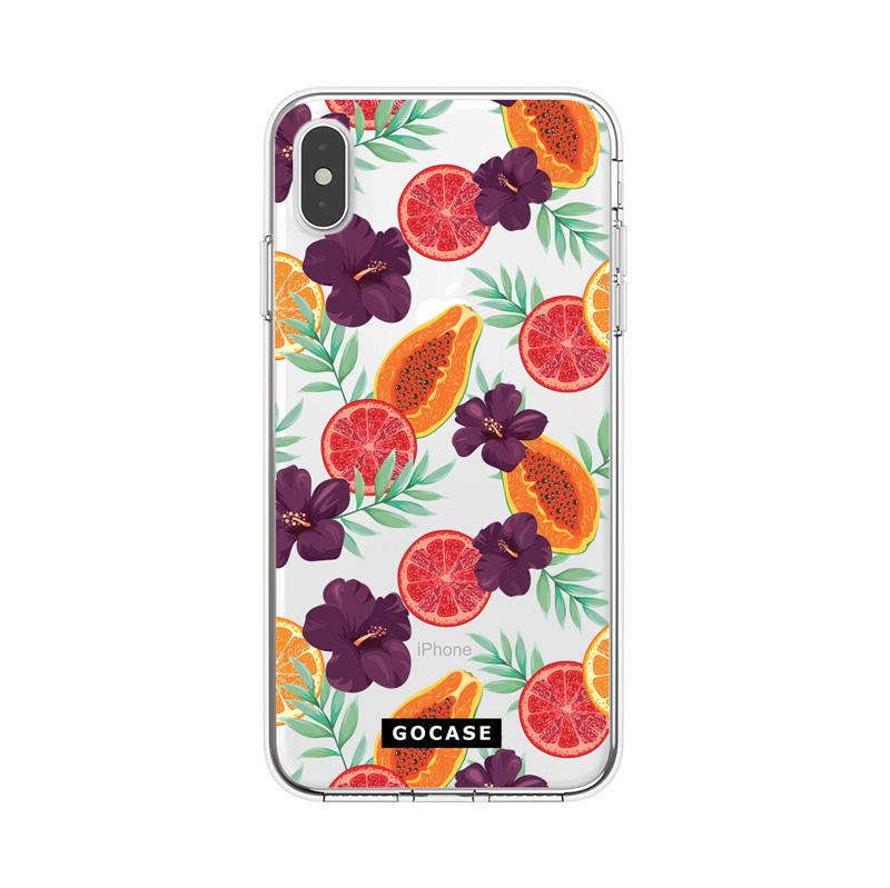 Кейс Exotic Fruits за iPhone X / XS