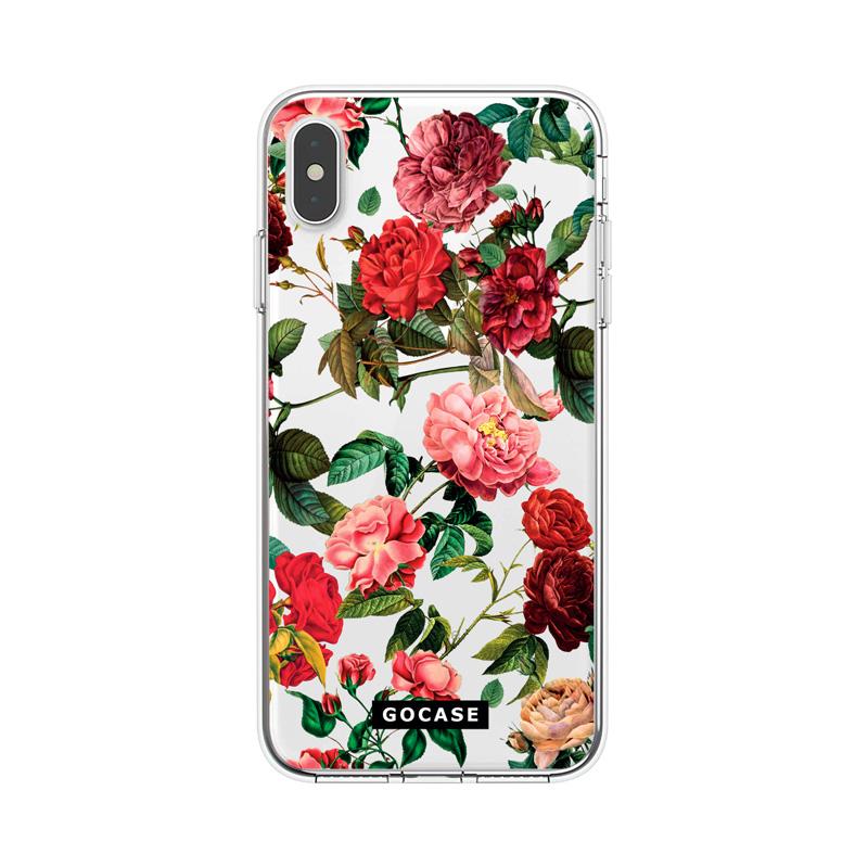 Кейс Roses за iPhone X / XS